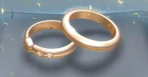 Luzern: Hochzeitsringe für das Brautpaar